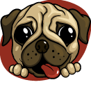 New OwnedByPugs.com logo