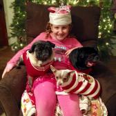Brenna, Daisy and Dozer