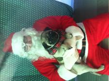 Eddie and Santa
