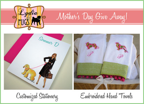 Lydia & Pugs Mother's Day Give Away