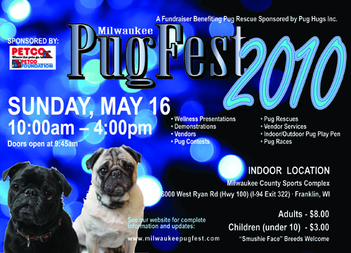 Milwaukee Pug Fest 2010