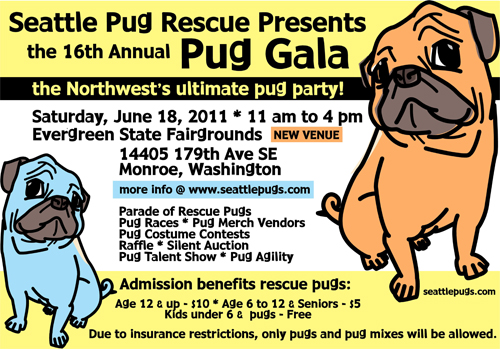 Pug Gala in Seattle