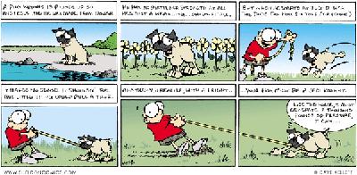 Sheldon the daily comic strip